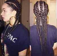 African hair stylist in Vernon