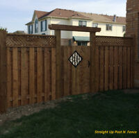 Fence Installation and Repair Service.