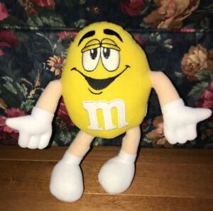 M&M Yellow Plush 10 Inch Stuffed Doll