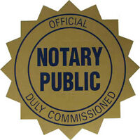 Notary Public / Commissioner in downtown Kitchener ($40)