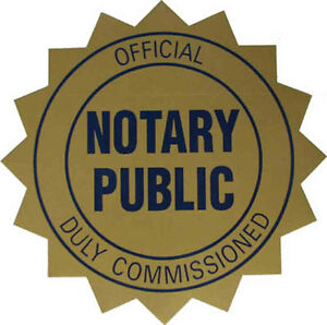 Notary Public / Commissioner in downtown Kitchener ($40) Kitchener / Waterloo Kitchener Area image 1