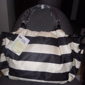 JOLLY JUMPER STRIPED BABY DIAPER TOTE BAG
