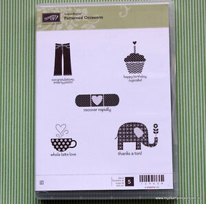 Stampin' Up Patterned Occasions Stamp Set Kitchener / Waterloo Kitchener Area image 1
