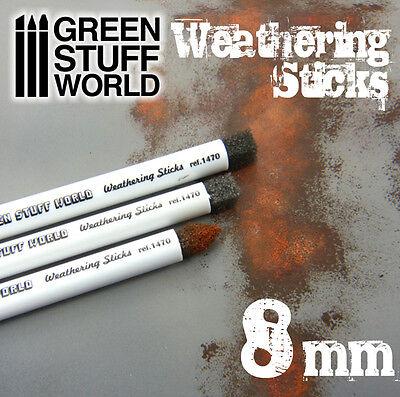 m - Schwamm für Effekte Oxid, Schlamm, Altern... - Pigment (Malen Pinsel Schwamm)