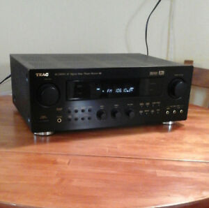 Teac AG D 8900 5.1 channel 500 watt Home Theater Receiver.