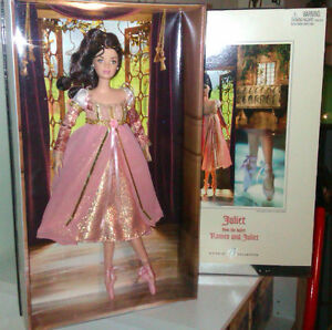 2004 JULIET BALLERINA BARBIE FROM ROMEO & JULIET NEW IN BOX