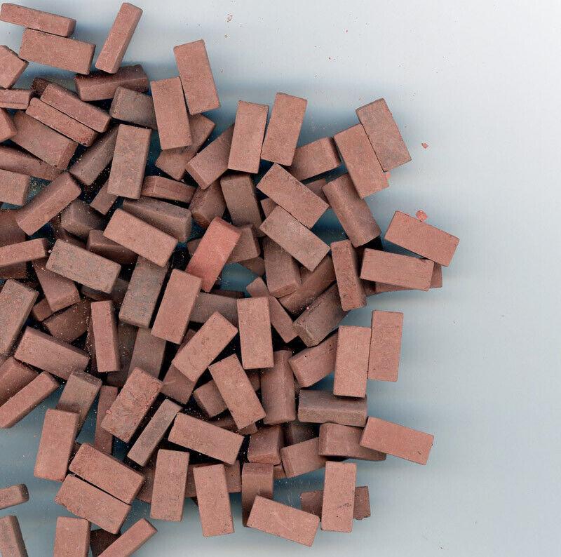 Dollhouse Miniature Red Blend Brick Blend by Andi Mini Brick & Stone 325 count