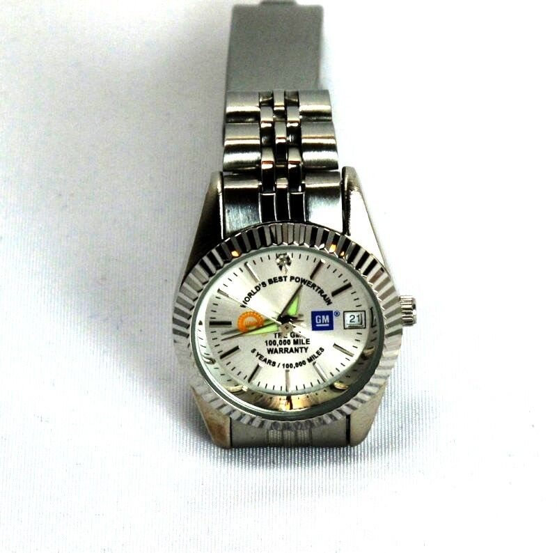 Womans Watch by Hampden Model St. Croix Automotive GM-UAW Logos  New in Box