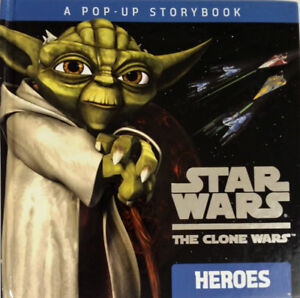 Star Wars The Clone Wars Heroes Pop-up Book