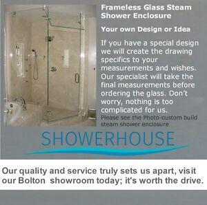 Glass shower enclosure-custom steam shower enclosures Steam Show