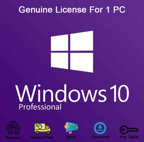 Windows 10 Pro 32-64bit Product Key Link Download Activation Genuine