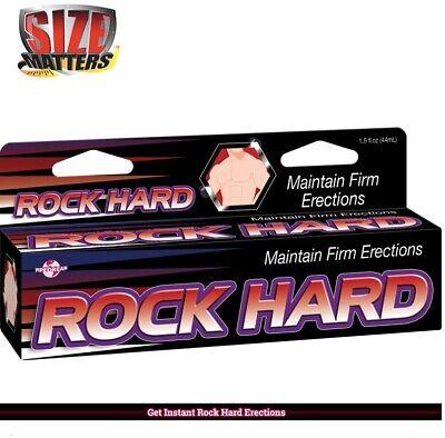 Delay Control - Rock HARD Power Cream Stronger Harder ERECTION for Men Delay Control LAST 1.5oz