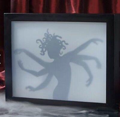 GRANDIN ROAD HALLOWEEN SIX ARM LADY SHADOW BOX  Motion / Lights NIB](Grandinroad Halloween)