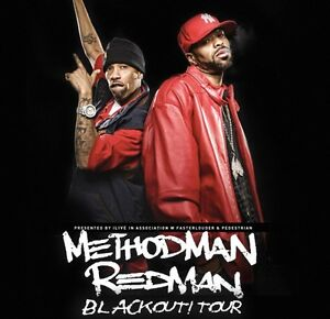 2x General Admission tickets for Redman & Method Man Tour SYDNEY Carrara Gold Coast City Preview