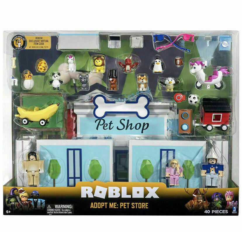 ROBLOX Celebrity Collection ADOPT ME: PET STORE Deluxe Plays