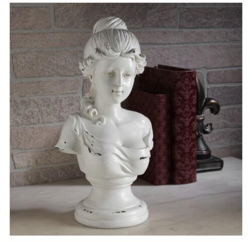 Decorative Tabletop Victorian Bust Sculpture
