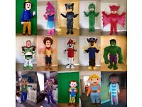 £35 Mascot/Character hire - UK Courier service