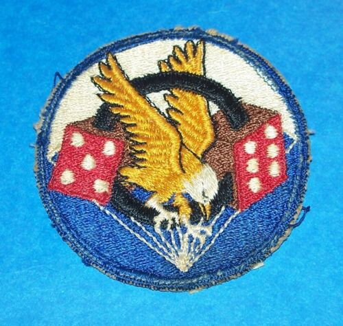 ORIGINAL SMALL EARLY POST WW2 506th AIRBORNE INFANTRY REGIMENT POCKET PATCH