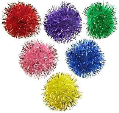 Ball Small Cats - GLITTER POM POM BALLS 1