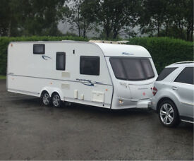 *sold* Coachman Highlander 640/6 caravan. 6 berth, twin axle.