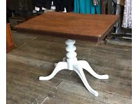 Shabby Chic Painted Antique Table