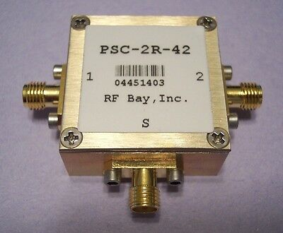 DC-4200MHz Resistive Power Splitter PSC-2R-42,New, SMA