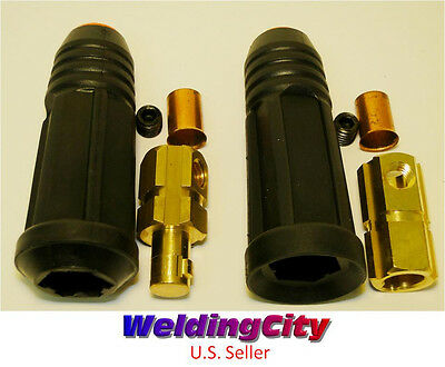 Welding Cable Twist-lock Connector Set Dinse 10-30 50-70mm Us Seller Fast