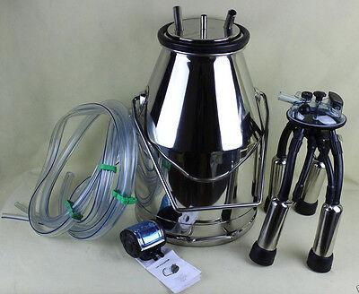 Portable Cow Milk Bucket 304 Stainless Steel Bucket Tank Bucket Milking Machine