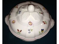 Villeroy and Boch round Tureens