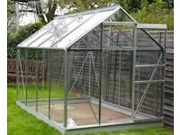 ££ Reduced Price ££ - Greenhouse aluminium 6 x 8ft (disassembled)