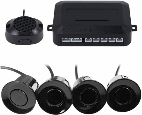 4 Parking Sensor Car Auto Backup Reverse Rear Radar Sound System Alert Alarm Kit