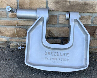 Greenlee 1732 C-frame Hydraulic Knockout Punch Driver 1
