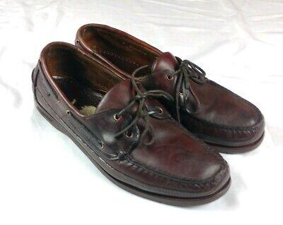 Sebago Docksides Men's Sz 11 Loafer Leather Shoes 2 Eyelet (A' Cond.)