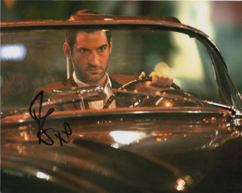 Tom Ellis Lucifer Autographed Signed 8x10 Photo COA #2