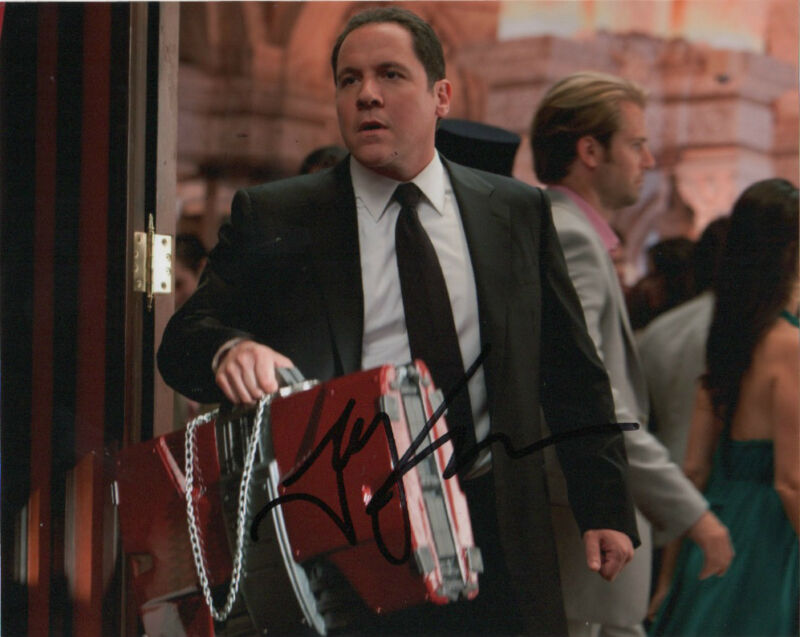 Jon Favreau Iron Man Autographed Signed 8x10 Photo COA