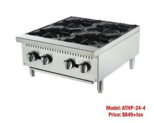 Cook Top 2 Burner, 4 Burner and 6 Burner--Brand New Gas Cooking and Cooking Equipment