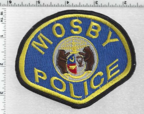 Mosby Police (Missouri) 1st Issue Shoulder Patch