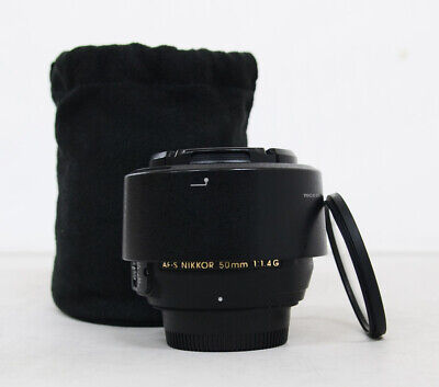 Nikon AF-S FX NIKKOR 50mm f/1.4G Lens with Auto Focus for Nikon ( with filter )