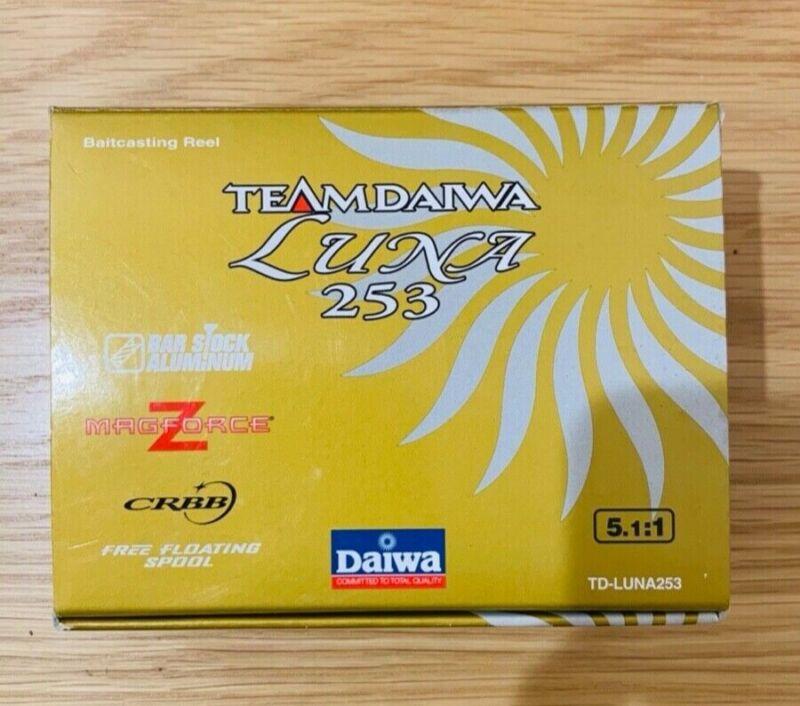 Team Daiwa Luna 253 5.1:1 Baitcasting Reel - NEW IN BOX - NEVER USED