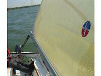 Beneteau First 210 211 217 Mainsail main sail by Ullman, Like New w/ slides