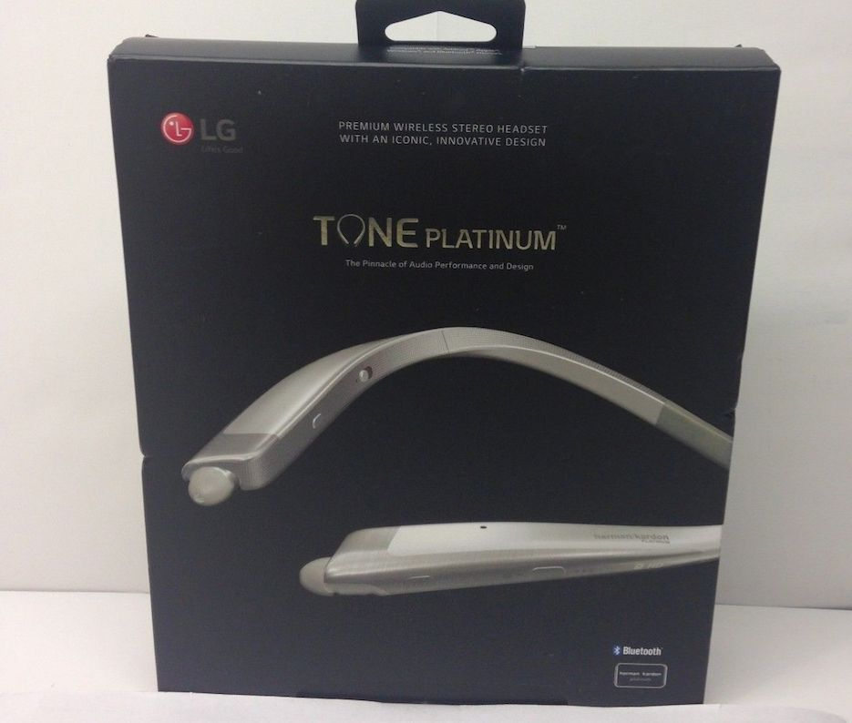 new lg tone platinum hbs 1100 bluetooth headset harman kardon platimum silver. Black Bedroom Furniture Sets. Home Design Ideas