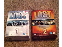 Lost complete 1st & 2nd series Box Sets in excellent condition Bargain £5