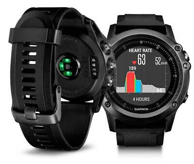 Garmin Fenix 3 Sapphire HR Heart Rate Monitor HRM Sports Watch GPS