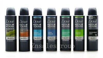 Dove Men Anti-Perspirant Deodorant Body Spray 6 Packs 150ml ( 7 Scents Choices ) Deodorant Body Spray Anti Perspirant