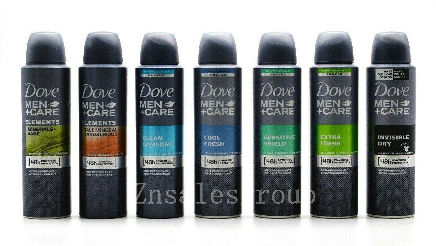 Dove Men Anti-Perspirant Deodorant Body Spray 6 Packs 150ml