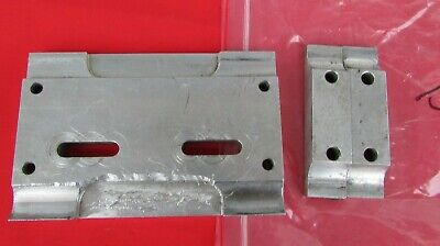 Burris brand flat engine mount to be used with a 2nd plate attaches the engine (Flat Engine Mounting Plate)