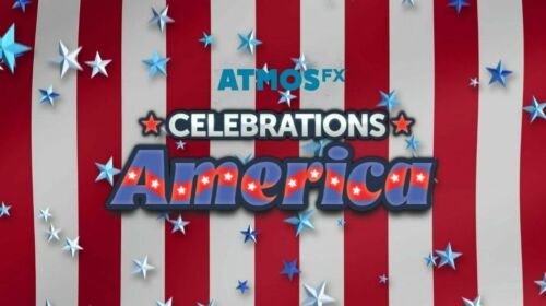 NEW AtmosFX Celebrations America great for the 4th of July - Holiday projection
