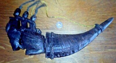 Vintage Torajan Medicine Horn
