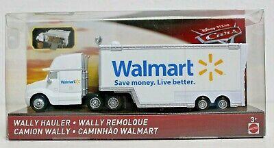 Disney PIXAR CARS Walmart Wally Hauler & Accessories Car Hauler Accessories