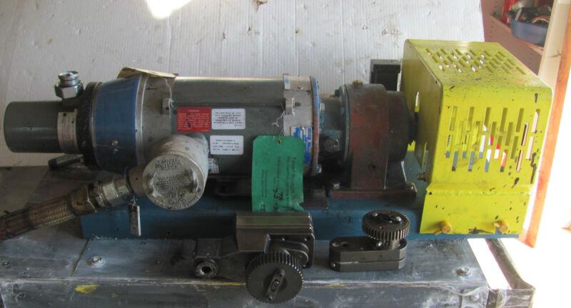 Parker Hannifin Zenith / Kawasaki precision chemical metering pump system